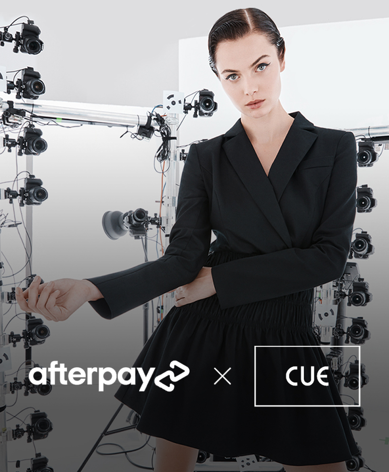 SHOP WITH AFTERPAY TO WIN A $1,000 CUE WARDROBE