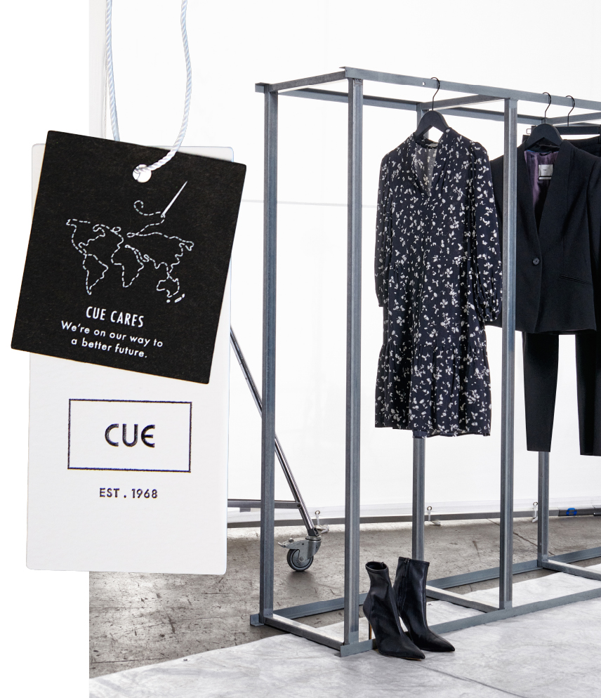Cue launches new sustainability range