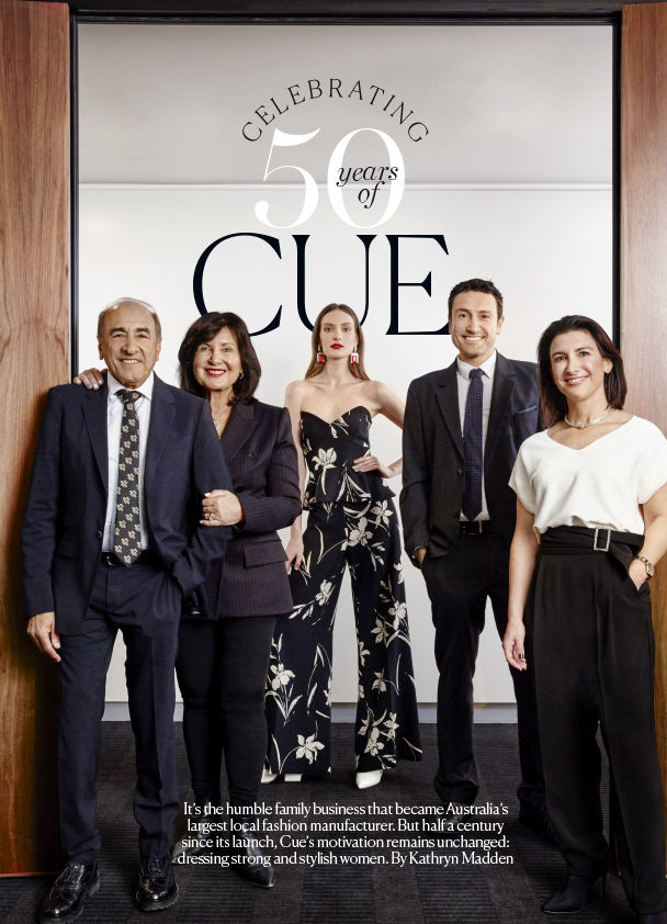 marie claire celebrates 50 years of Cue!