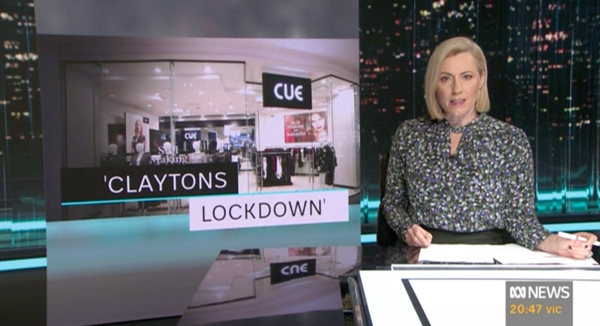 CUE IN THE NEWS I Sydney's 2ND COVID-19 LOCKDOWN