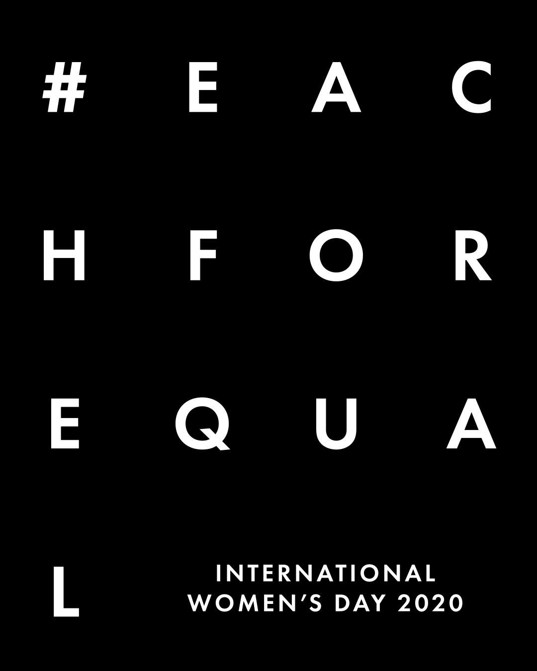 Cue celebrates International Women's Day! #EachForEqual