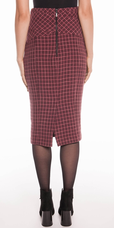 Skirts | Mini Tartan Pencil Skirt