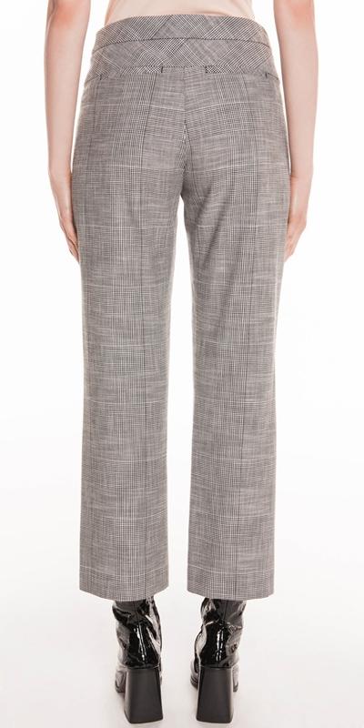 Pants | Monochrome Check Trouser