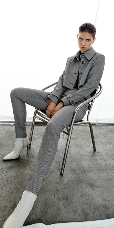 Pants | Mini Houndstooth Skinny Pant