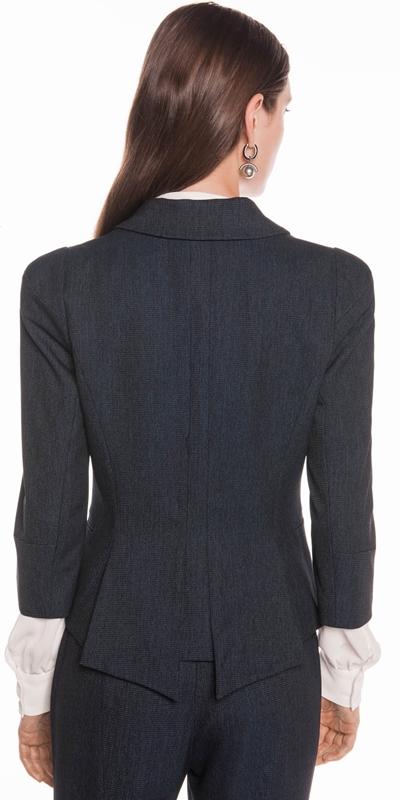 Jackets | Textured Ink Spliced Sequin Jacket