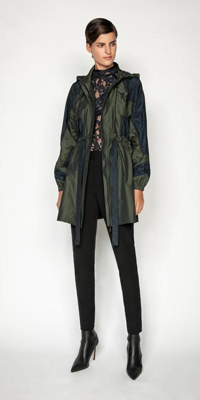 Jackets and Coats | Spliced Tech Parka