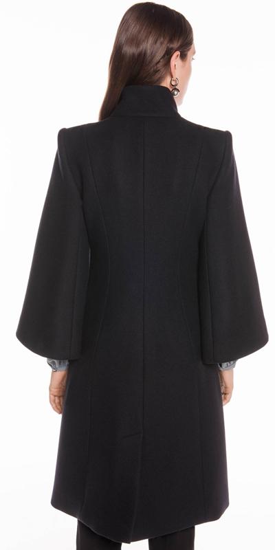 Coats   Ink Kimono Sleeve Coat