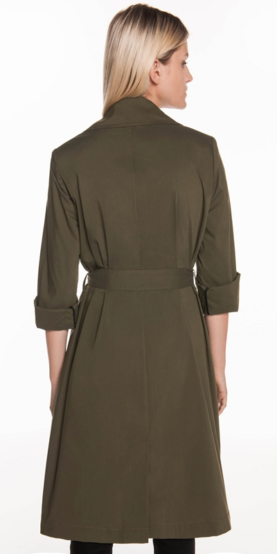 Jackets   Relaxed Trench Coat