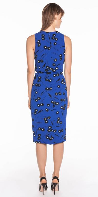 Dresses   Abstract Daisy Wrap Dress