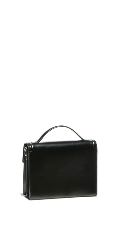 Accessories | Topstitched Cross Body Bag