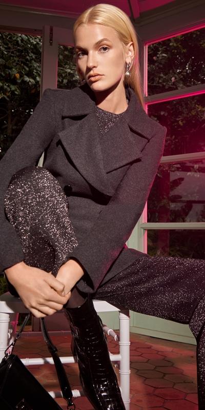 Knitwear | Lurex Knitted Pants