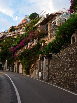 20171123 Quiet Streets in the Positano Low Season