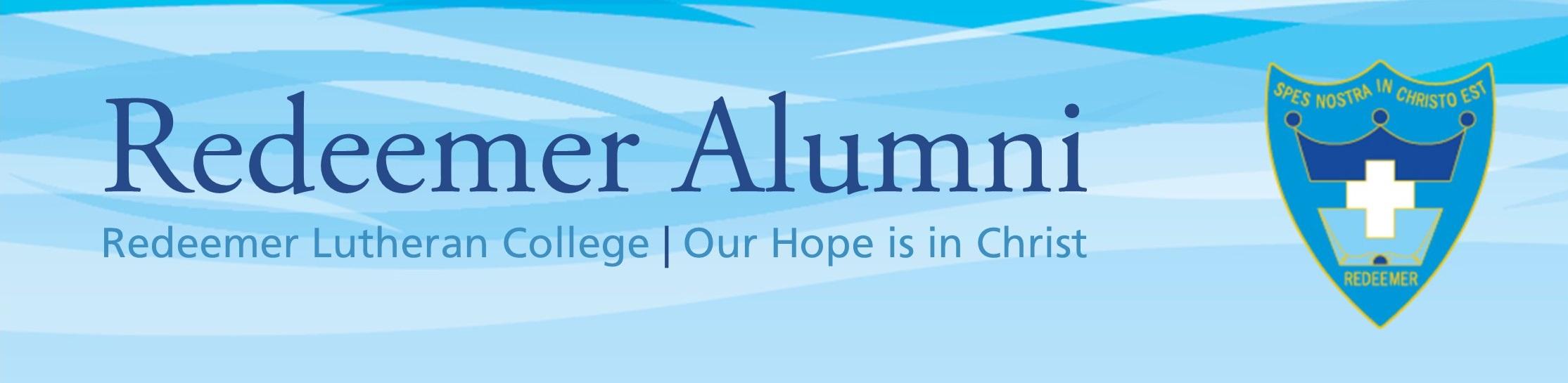 Redeemer Alumni Web Header V2