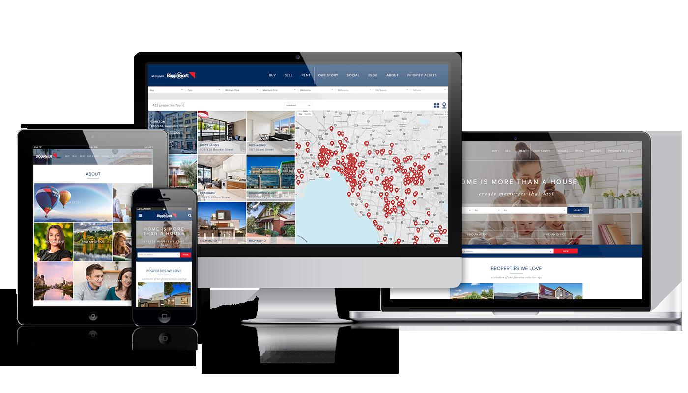 Biggin and Scott Website Design
