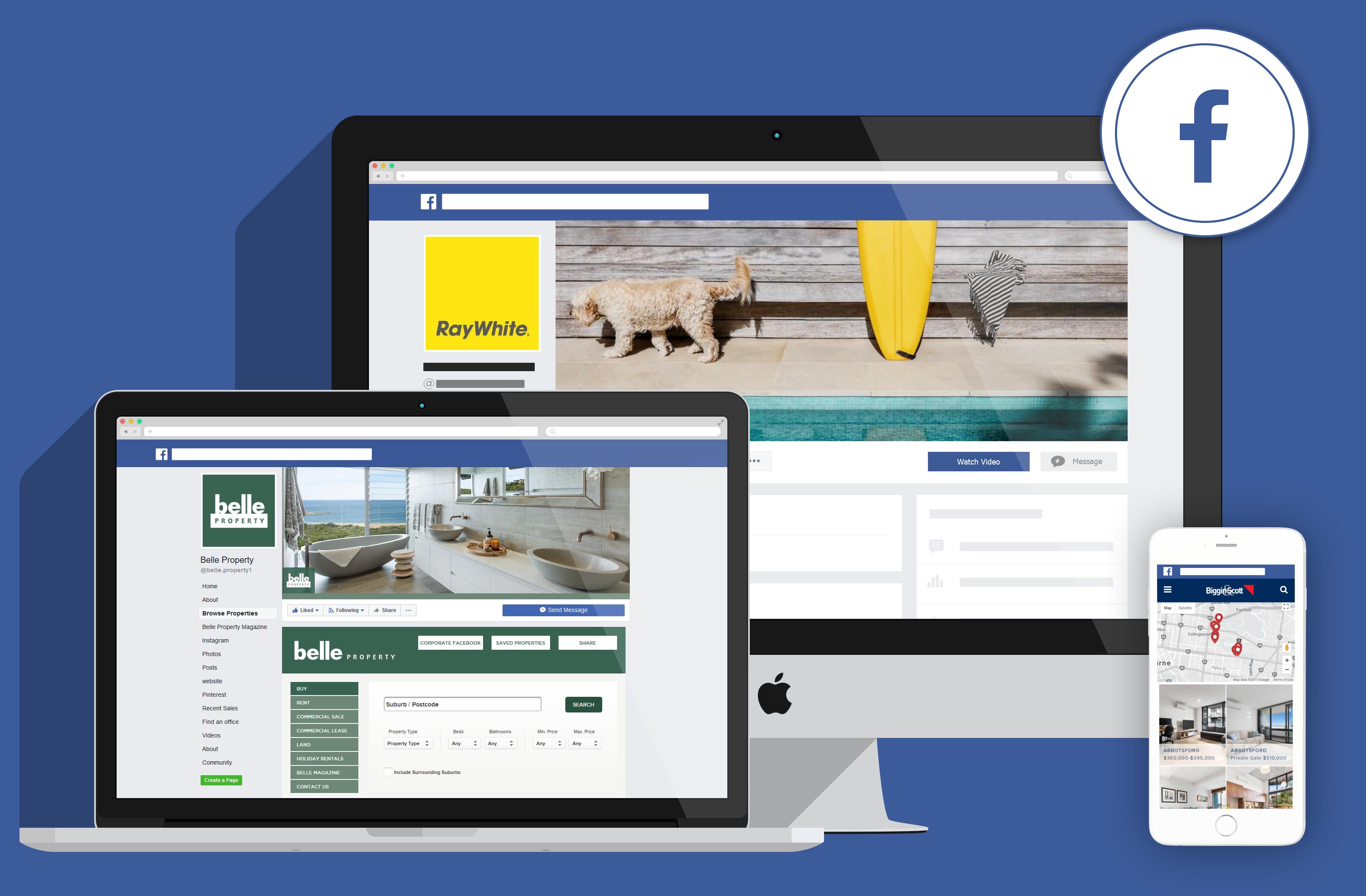 Facebook Real Estate / Property Apps