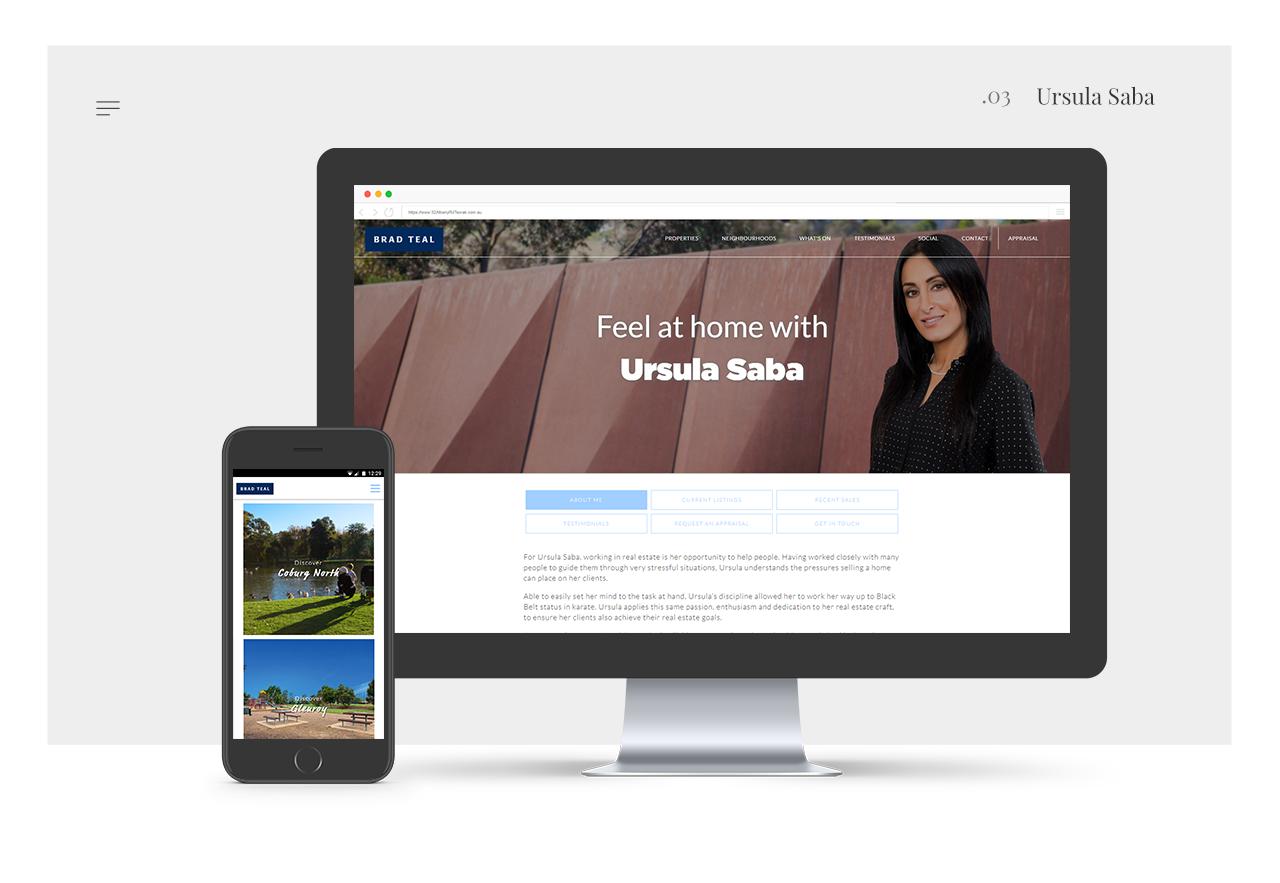 Ursula-Saba - Agent Real Estate Website