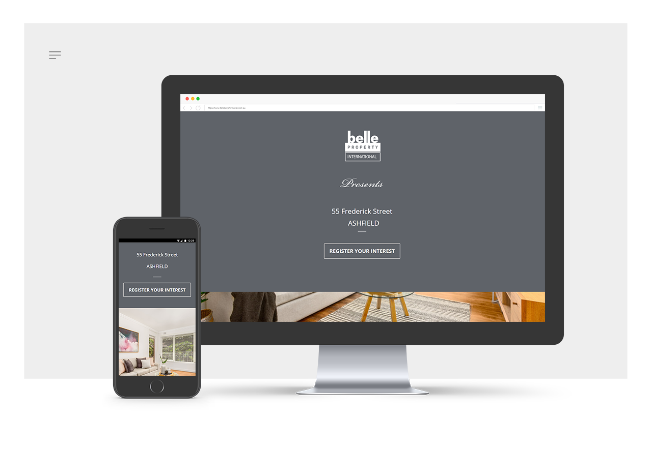 Belle-Property-Microsite
