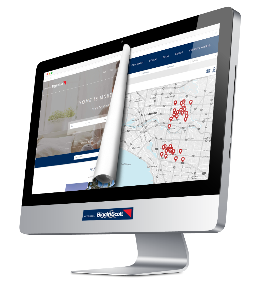 Biggin & Scott Real Estate Website Design
