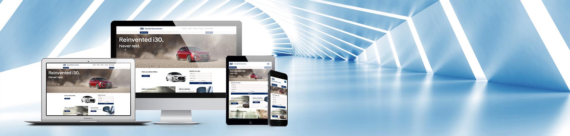 Updates to Hyundai Dealer Websites