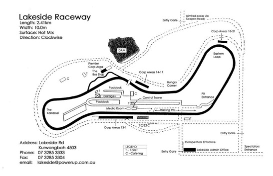 Lakeside International Raceway Ipswitch Queensland