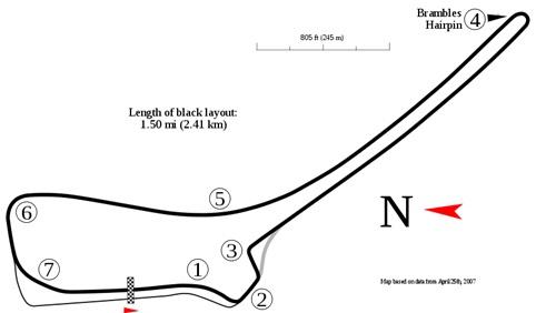 Symmons Plains Raceway Tasmaina