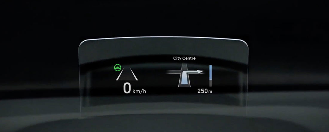 hyundai kona head-up display hud john hughes perth
