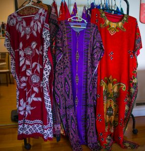 Kaftans are an important source of income for the villagers. Photo: TruPics
