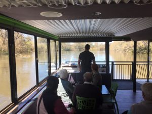 Cruising the Murray River on board the Sienna Daisy. Photo: Sienna Daisy