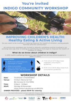 Indigo Community flyer