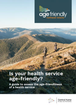 Is your health service age-friendly? cover