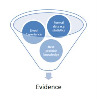 Evidence diagram