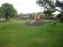 Existing playground resized