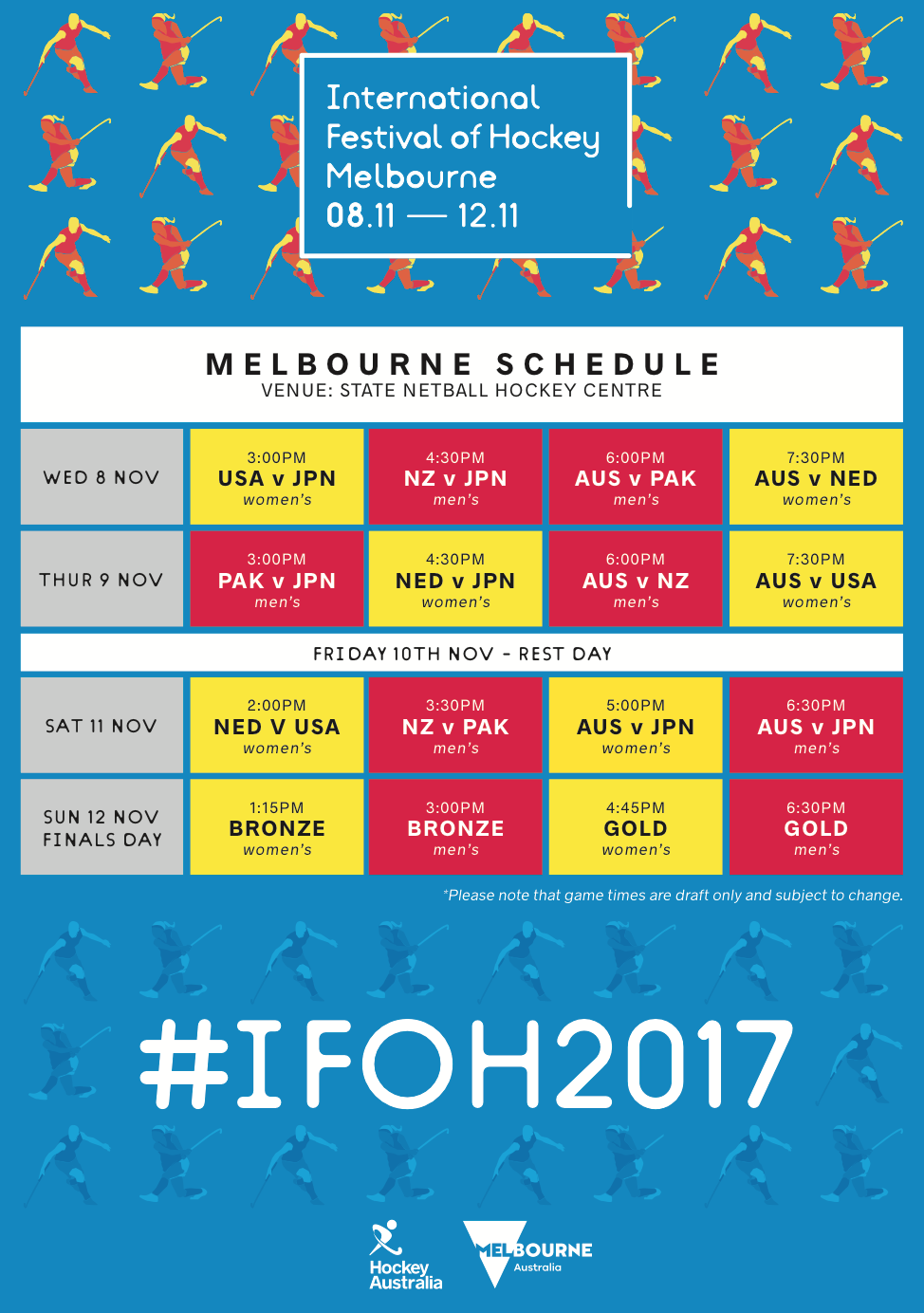 2017 International Festival of Hockey – Day 1