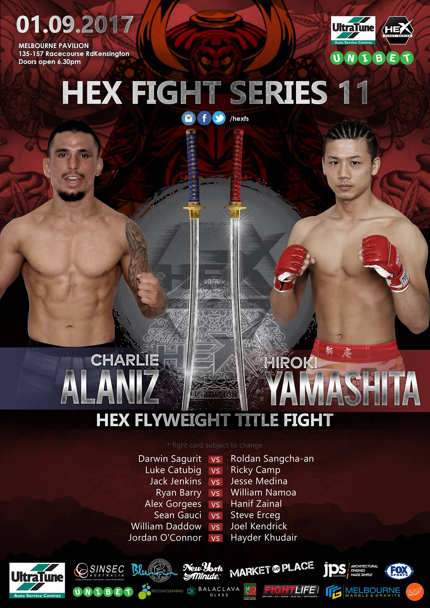 HEX FIGHT SERIES 11