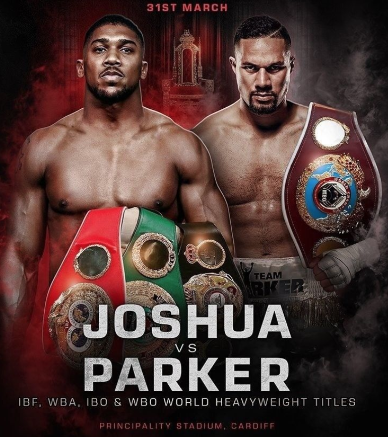 FIGHT CALL OUT – Anthony Joshua v Joseph Parker Preview