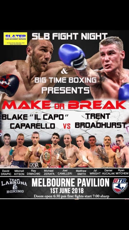 Make or Break: Caparello v Broadhurst