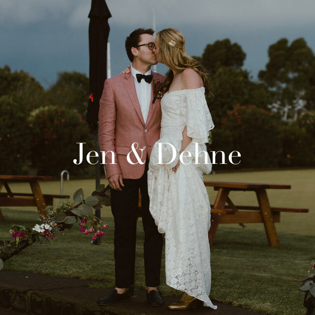 Wedding of Jen and Dehne