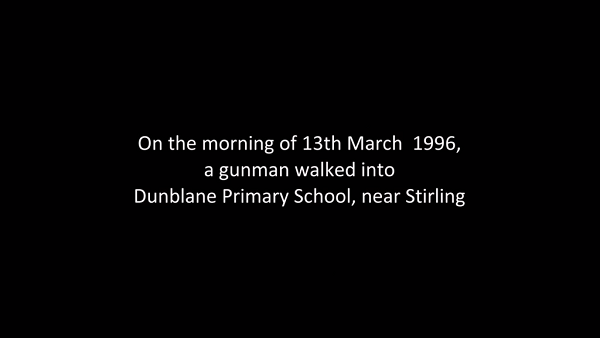 Dunblane Our Story - Sneak Peek