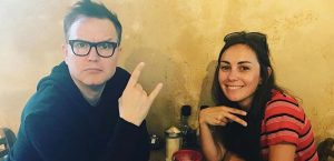 Amy Shark Is In The Studio With Mark Hoppus