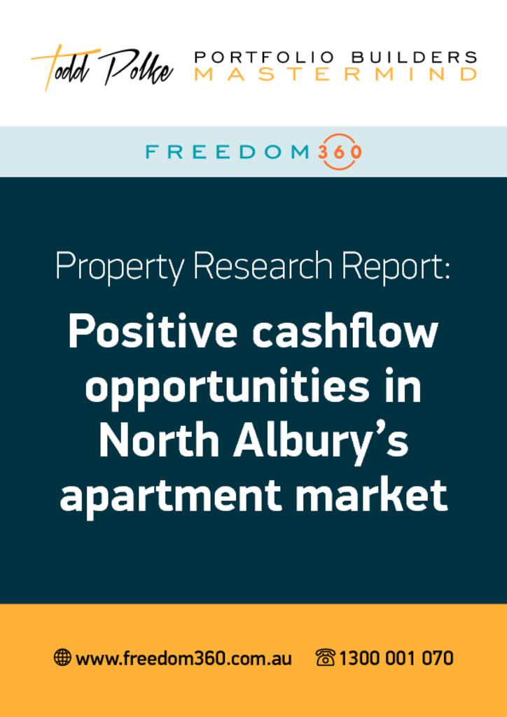 thumbnail of North-Albury-Positive-Cashflow-Opportunity-Report-September-20152