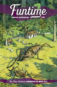 Funtime comics 28 cover