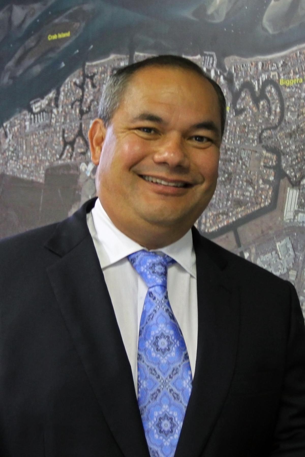 Mayor Tom Tate, City of Gold Coast