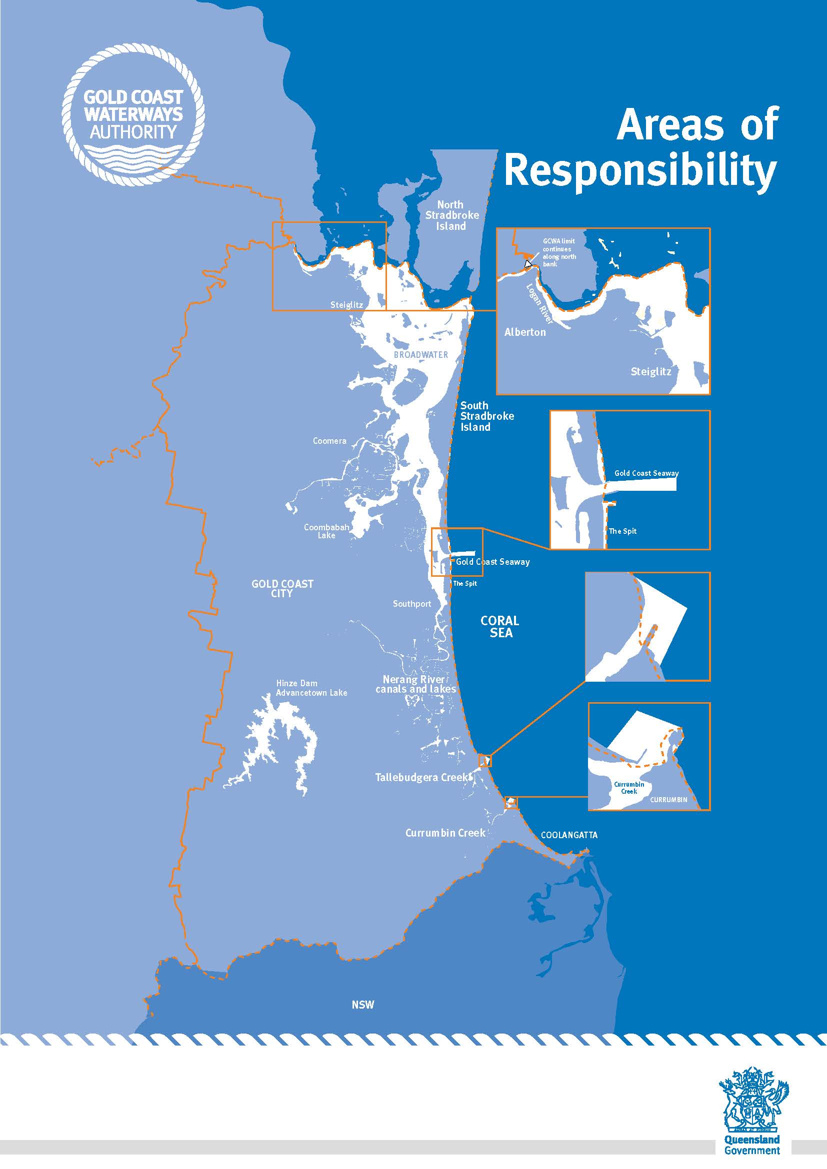 Maps Gold Coast Waterways Authority