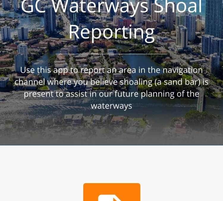 The GC Waterways Shoal Reporting App is here!