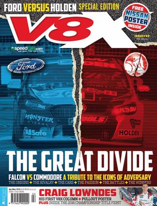 V8X Supercar Magazine 12 Month Subscription