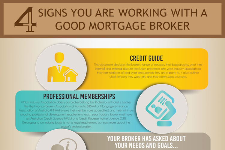 4 Signs you are working with a good mortgage broker