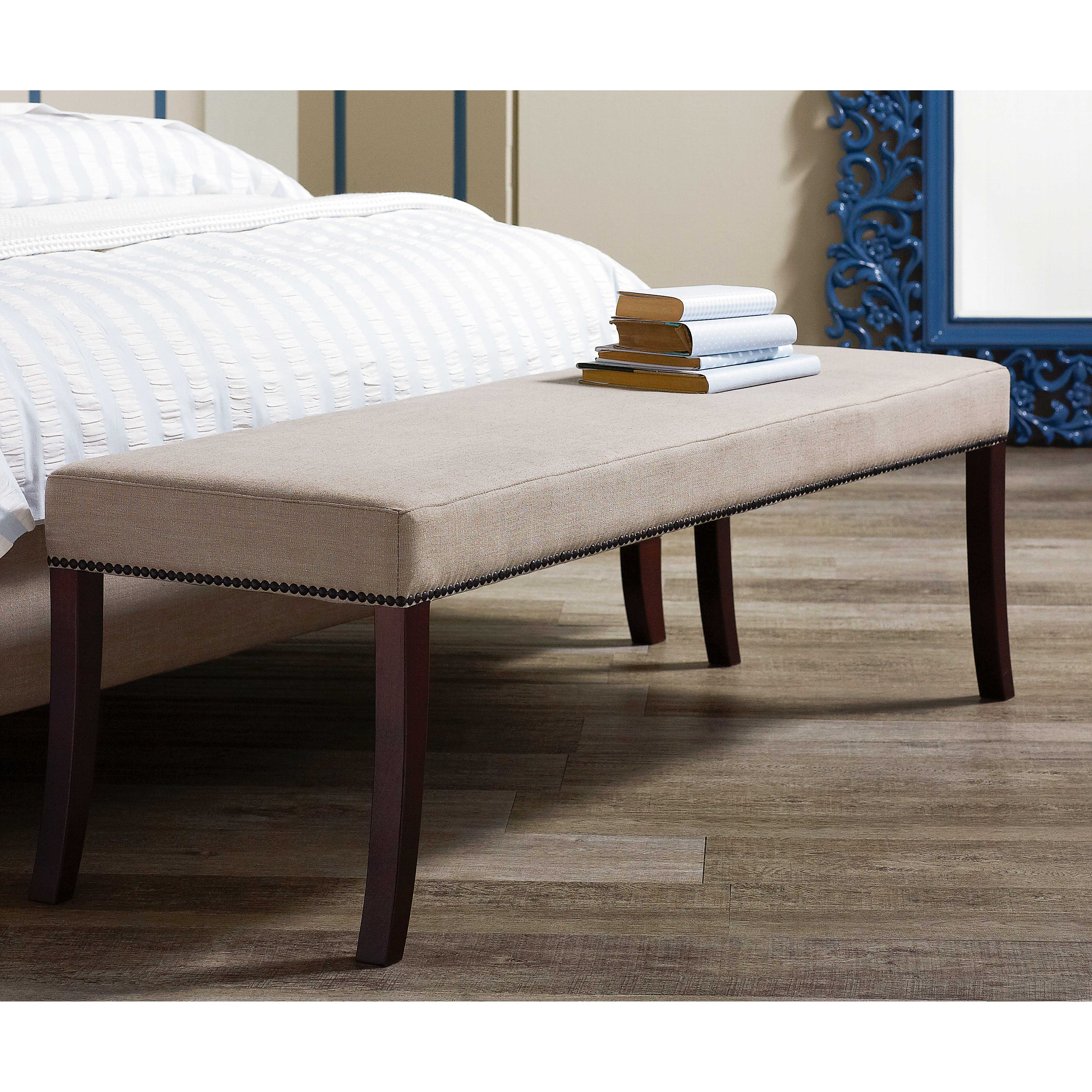 Bench By Bed: Ravena Bed Bench