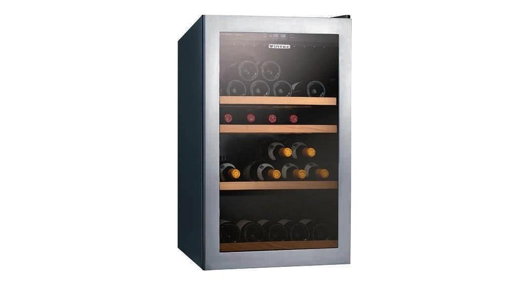 Vintec 30 Bottle Single Zone Wine Fridge Domayne