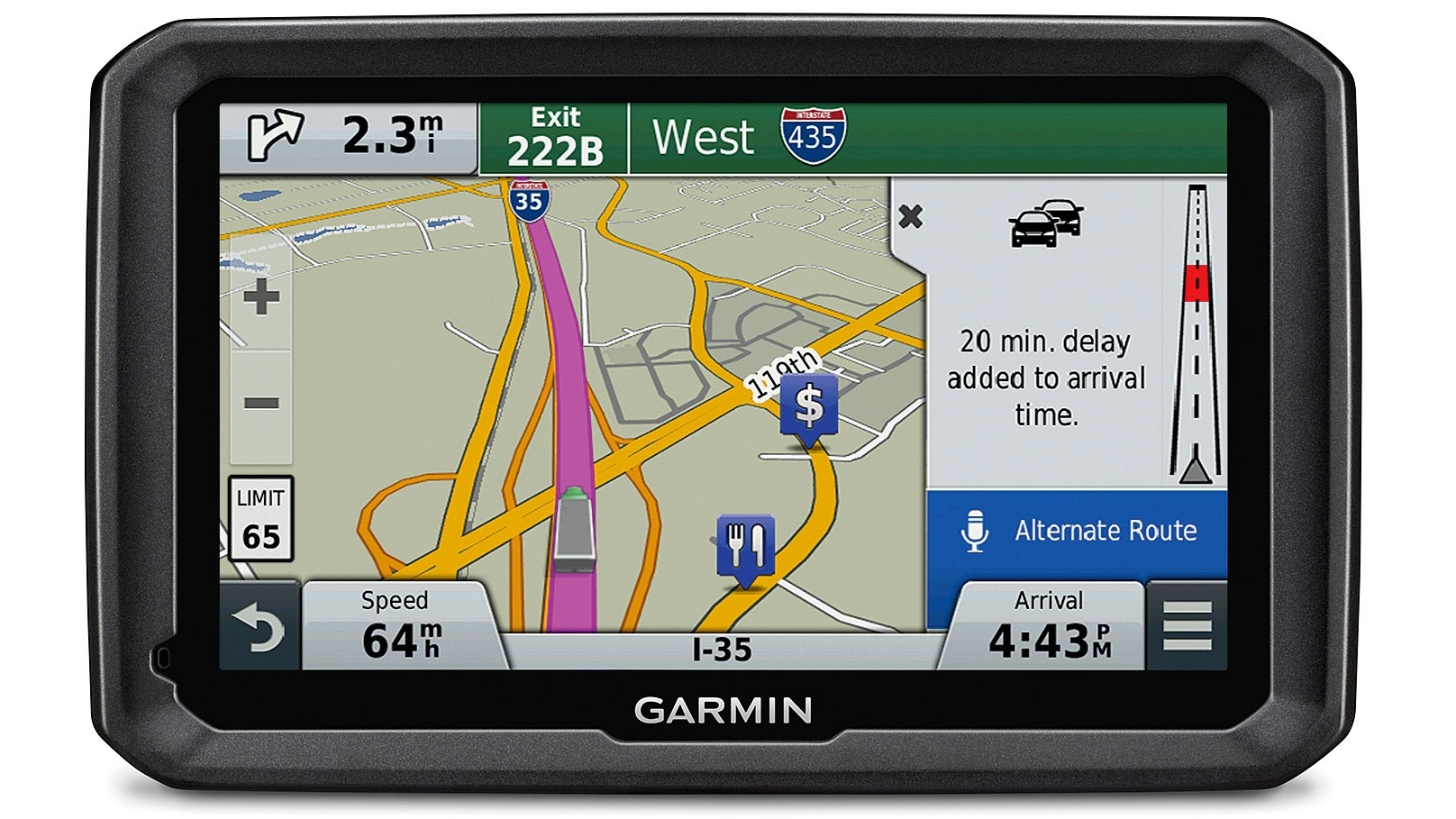 Garmin Dezl 7 770LMT Trucking GPS