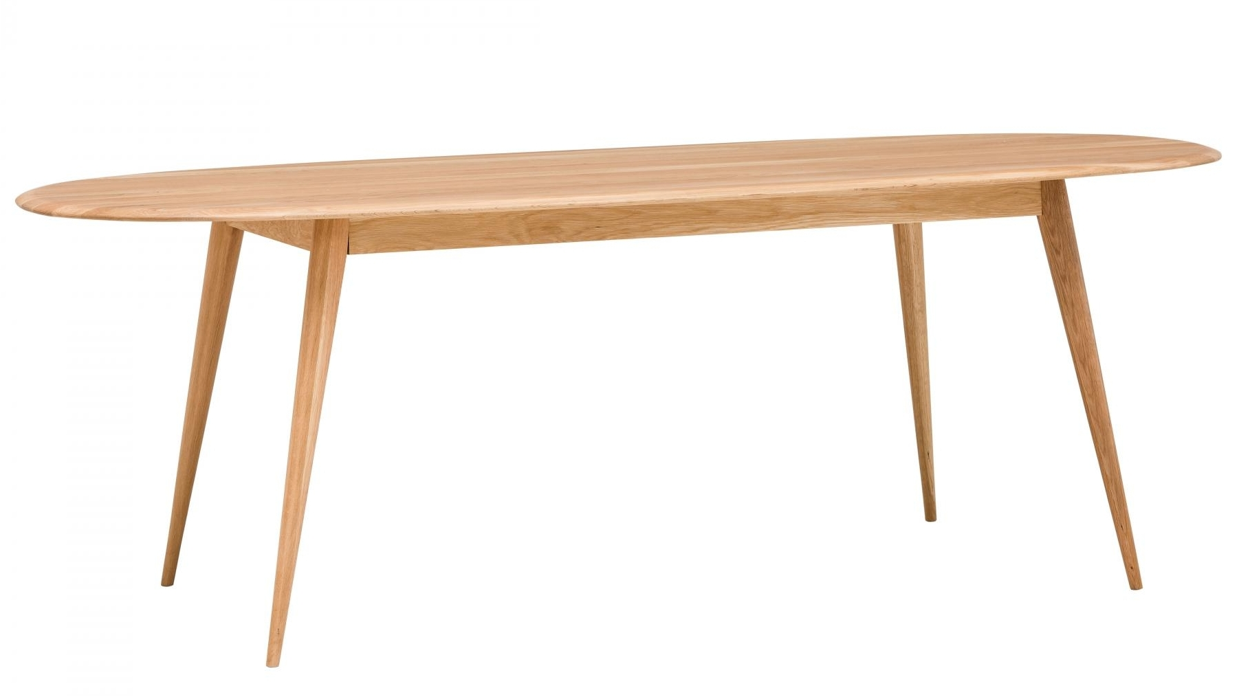 Bianca oval dining table domayne for Oval dining table